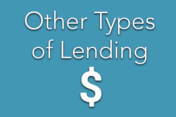 Other Types of Lending