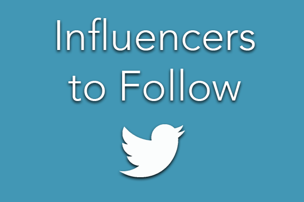 Influencers to Follow
