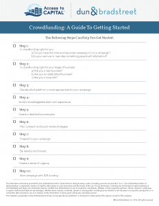 Crowdfunding: A Guide to Getting Started