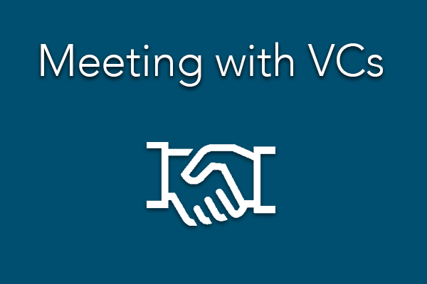 Meeting with VCs