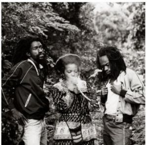 Black Uhuru Enjoying the Sacrament
